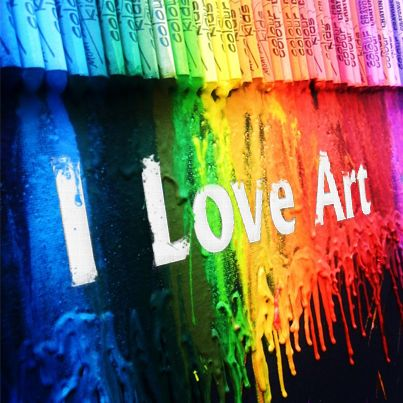 #ILoveArt #art #Photoshop #Crayons #MeltingCrayons
