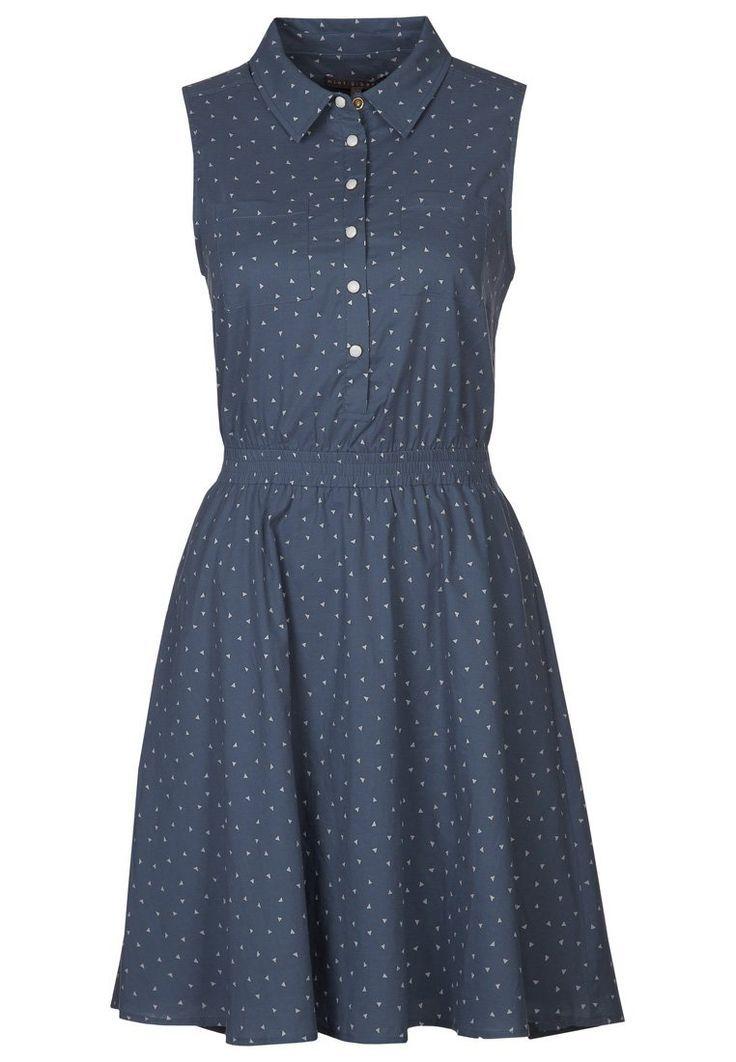 mint - Sukienka koszulowa - niebieski