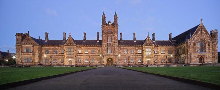 University of Sydney located in Sydney, Australia.