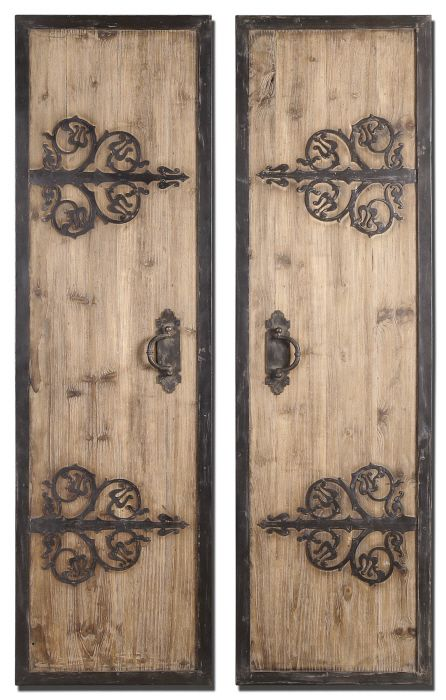 tally wall window panels set of 2 these oversized. Black Bedroom Furniture Sets. Home Design Ideas