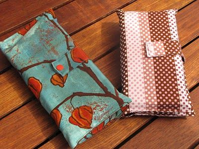 A nappy wallet- the first thing I intend to sew on my new sewing machine. Have the fabric now just need to do it.