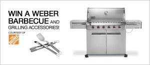 Win a Weber BBQ and Grilling Accessories