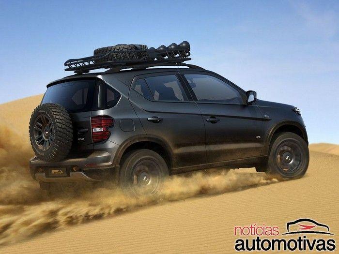 Chevrolet Niva Concept é revelado por inteiro na Rússia