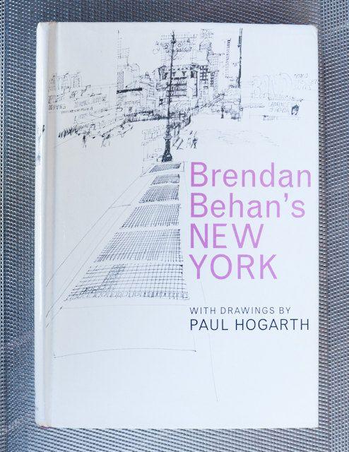 Brendan Behan's New York with drawings by Paul by freshdarling