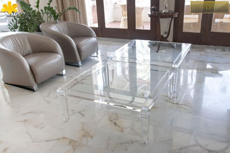 17 Best images about Acrylic coffee tables / tavolini da ...