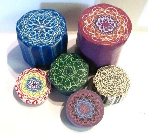 Polymer Clay String Art Canes Cane Builder by PolymerClayWorkshop