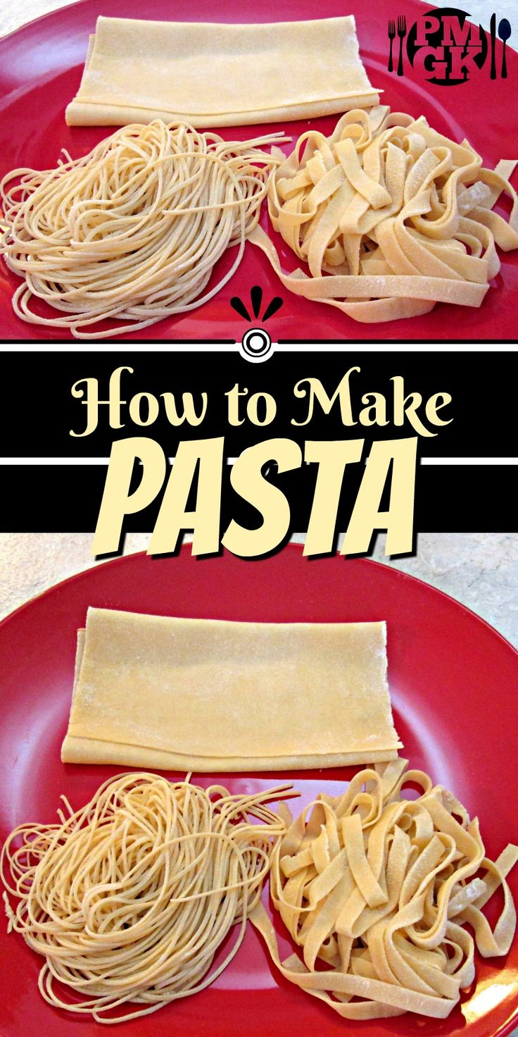 This is the secret on How to Make Pasta... From scratch! It's the best online tutorial to show you how easy pasta is to make. So be sure to watch the short video tutorial. Poor Man's Gourmet Kitchen