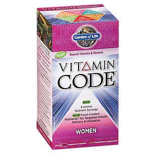 Vitamin Code Women (120 Veggie Caps)  by Garden of Life at the Vitamin Shoppe