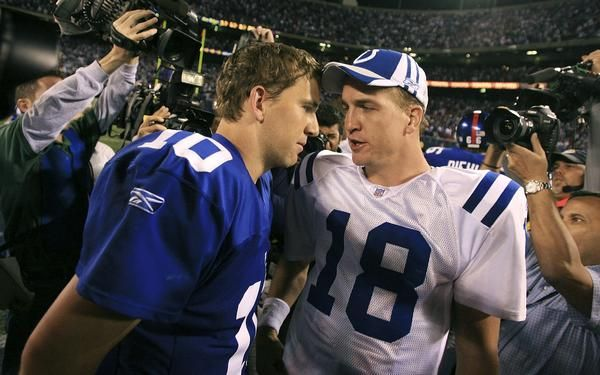 For the third time in their careers the brothers Peyton Manning & Eli Manning face off on 15 Sept. 2013