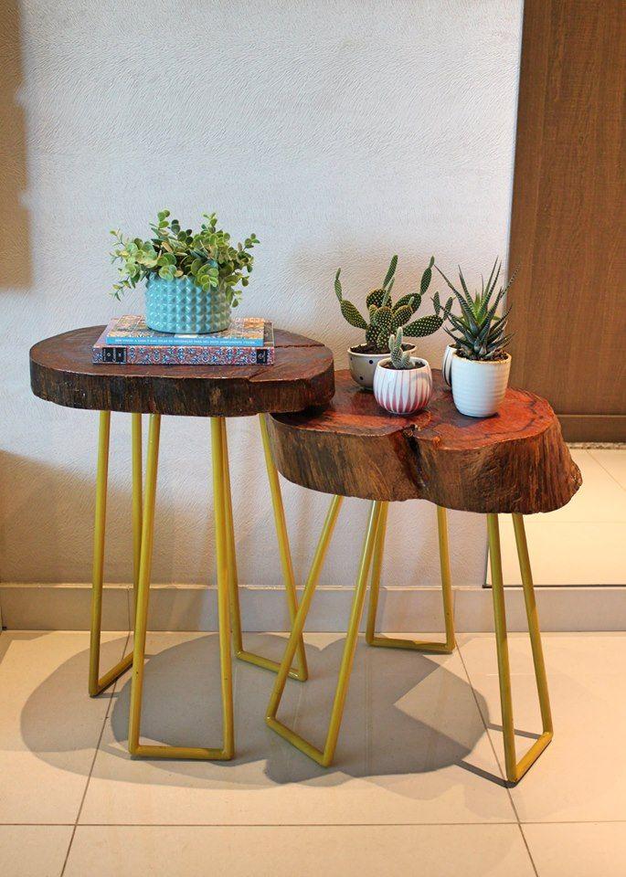 Las 25 mejores ideas sobre mesas de centro del tronco en - Mesa de tronco ...