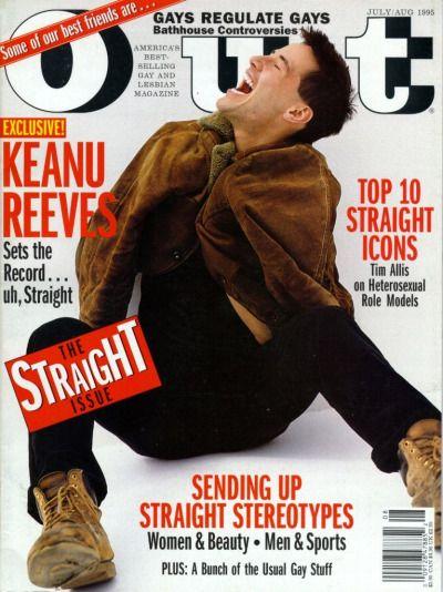 Keanu reeves announces he is gay