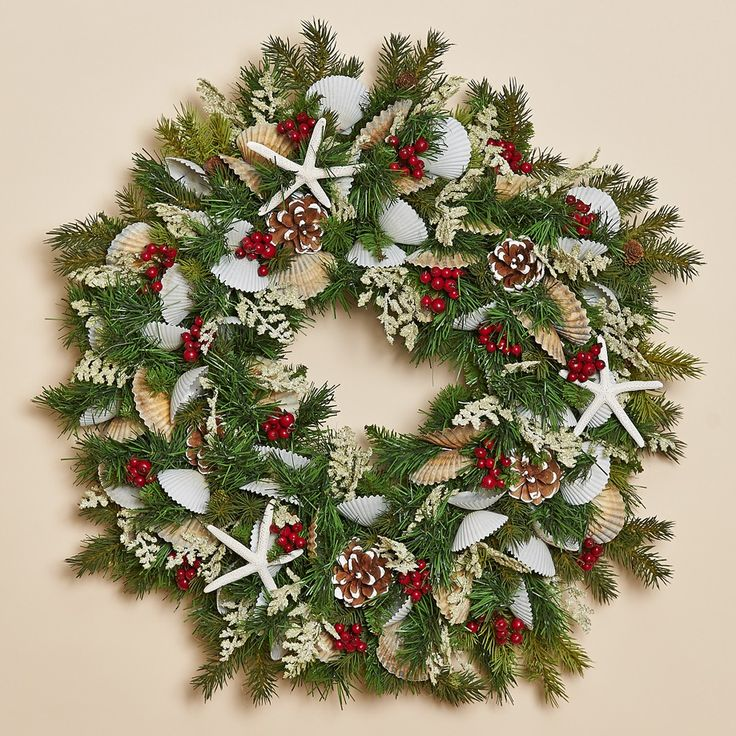 Images about coastal christmas outdoor decor on