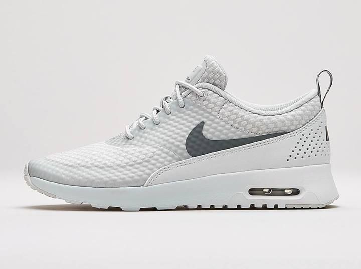 Air Max Thea White With Black Tick