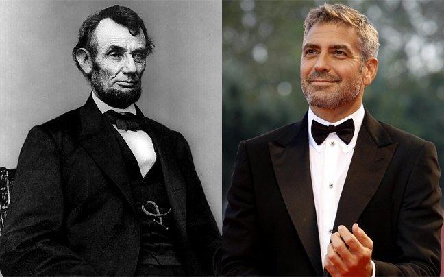 Συγγενής του προέδρου Λίνκολν ο Τζορτζ Κλούνεϊ