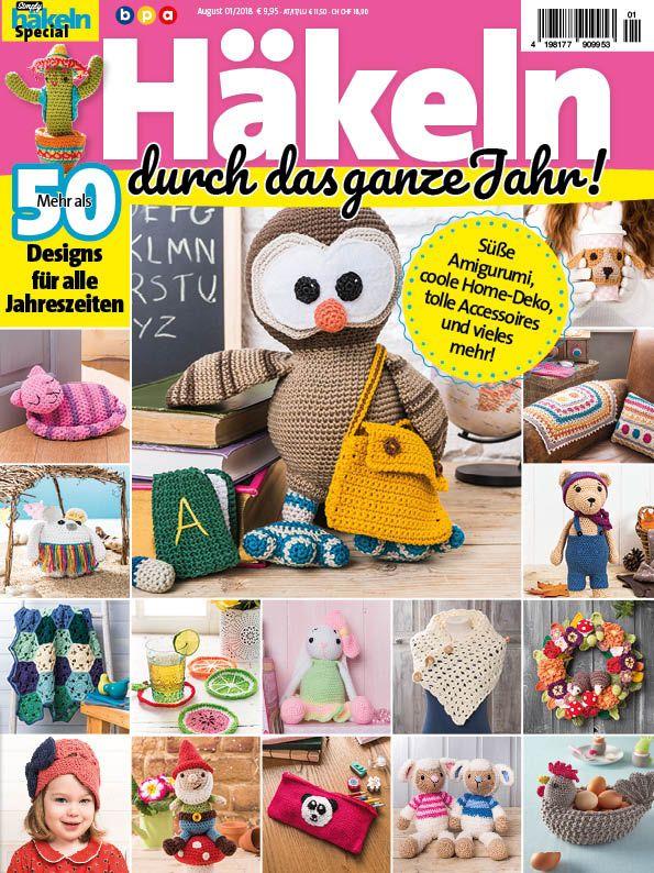 Simply Häkeln Special Häkeln Durch Das Ganze Jahr Heft 012018