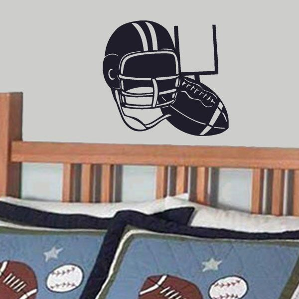 Best American Football Wall Stickers  Decals Images On - Custom vinyl wall decal equipment