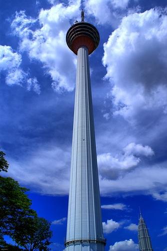 The Kuala Lampur Tower in Malaysia