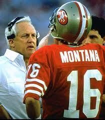 The Master and one of his students: Walsh Joe, Joe Montana, Football Nfl, Bill Walsh 49Ers, Montana Christmas, Sf 49Ers, Holidays Quotes, Coach Bill, Sports Fans