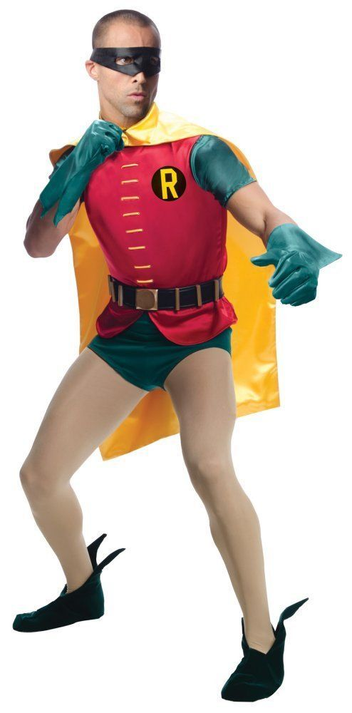 Costumes! Batman's Sidekick Robin Theater Quality 1960s TV & Movie  Costume Set #RUGrandHeritage #Costume