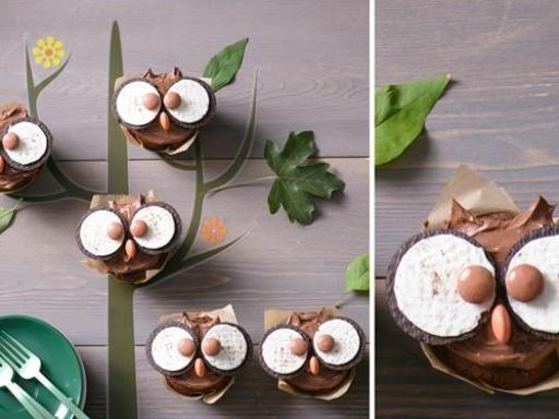 Rezept Eulen-Muffins, unser Rezept Eulen-Muffins - gofeminin.de