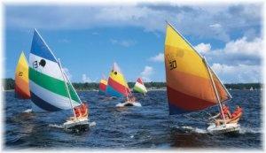 ...Sailing takes me away...