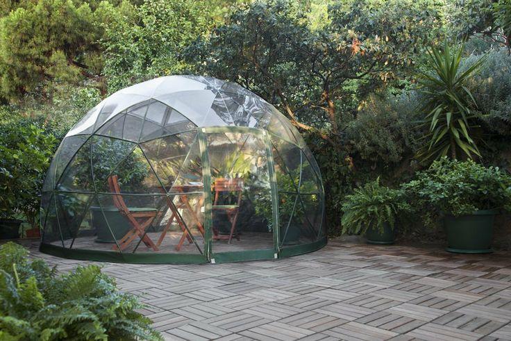 garten iglu pavillon zelt mit sommerdach wintergarten berzug 3 60m garten. Black Bedroom Furniture Sets. Home Design Ideas