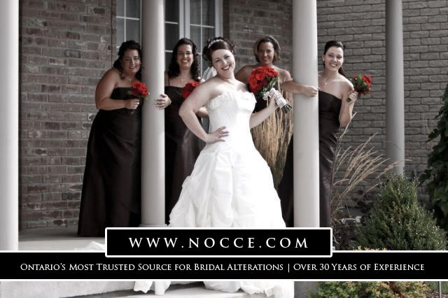 Best Dress Alterations for Brides and Bridesmaid in Brampton area: Nocce Bridal Alterations #NocceBridalAlterations #WeddingDressAlterations #BridalGownAlterations #brides