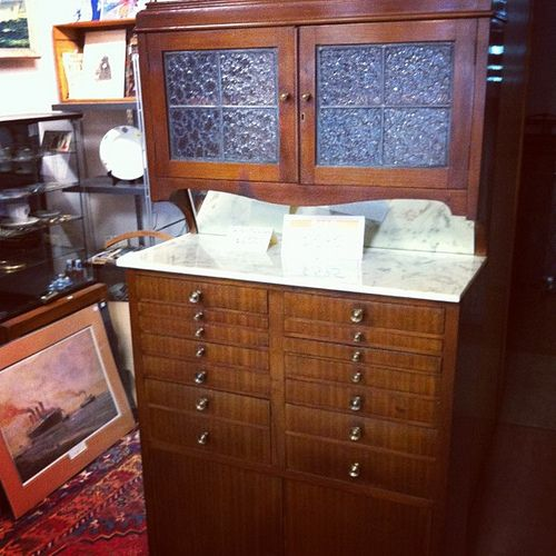 Bought This: Antique Dental Cabinet