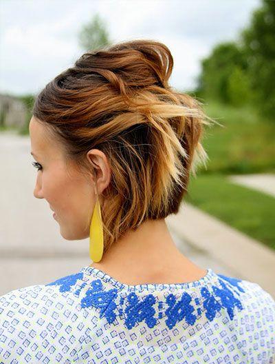 Les 10 meilleures coiffures pour les cheveux courts  #cheveux #cheveuxcourts #tresse #monvanityideal #coiffure