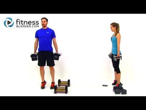 Lower Body Toning Workout - 56 Minute Butt and Thigh Tabata Workout with...
