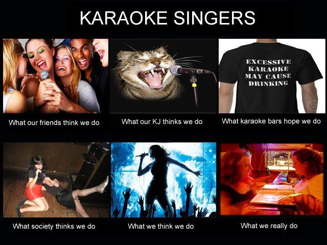 And you thought karaoke was all about singing 2