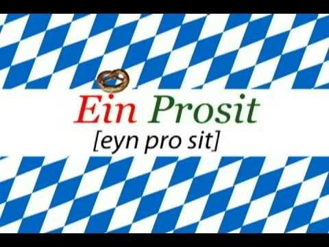 Ein Prosit lyrics - Celebrate Oktoberfest loud and proud!