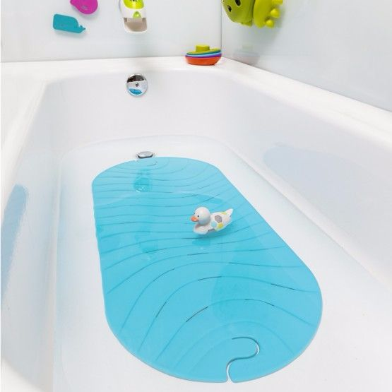 http://www.ruggabub.com.au/bath-time/boon-ripple-bath-mat-blue/ THE BEST THING IN THE TUB SINCE YOUR KID