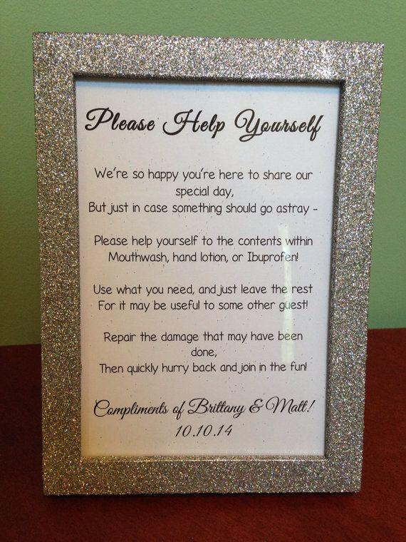 Etsy Finds: wedding signage, signage, signage... » DPNAK Weddings