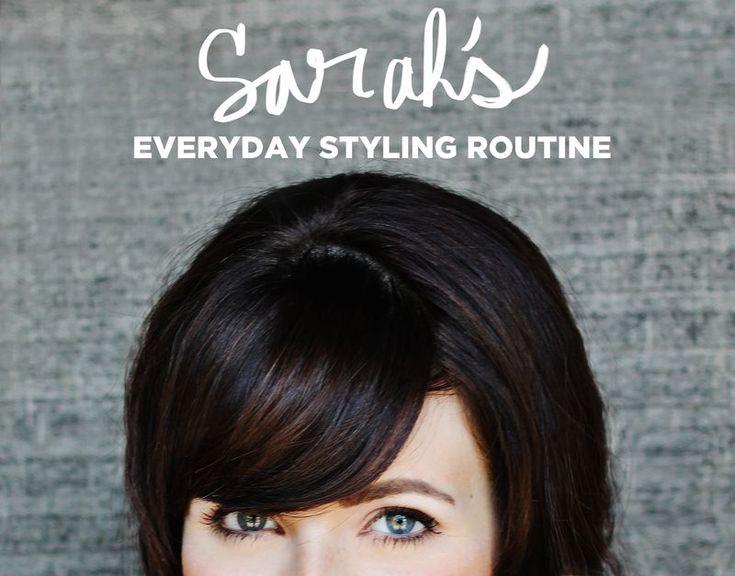 Everyday Styling Routine: Style Hair Makeup, Makeup Tutorials, Beauty Makeup, Beauty Hair Post, Beautiful Mess, Adorable Hair, Beauty Routine, Hair And Makeup, Beautiful Ish