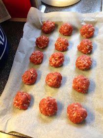 : Meatballs (slimming world friendly)