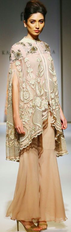 pakistani lace cape 2016 - Google Search