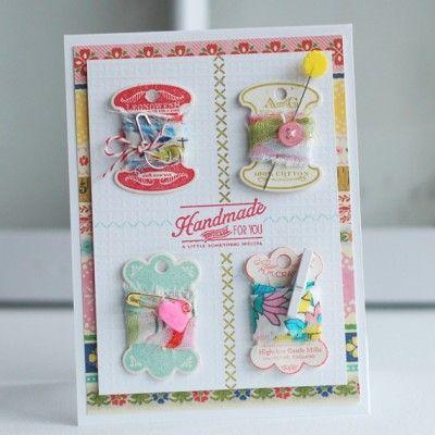Поздравить, открытки для швеи своими руками