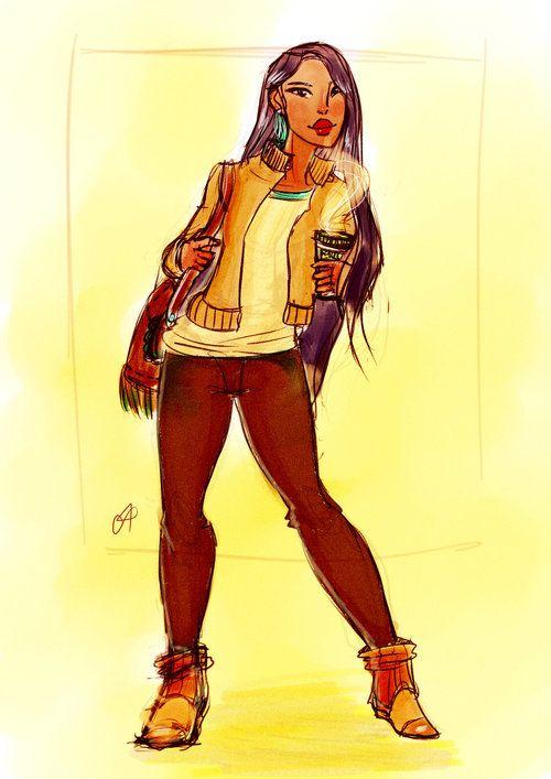 Pocahontas by koneko19