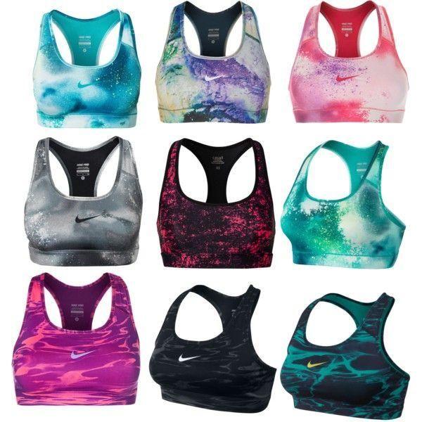 Nike sports bras http://www.FitnessGirlApparel.com/