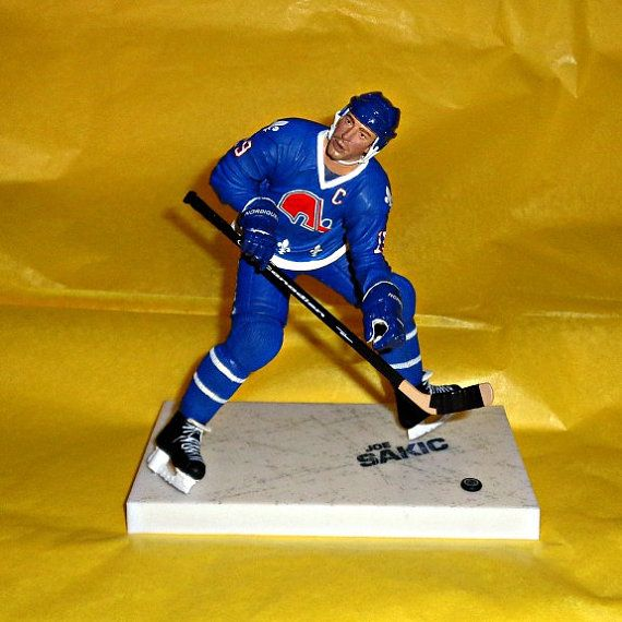 Joe Sakic Quebec Nordiques Ice Hockey NHL by WelshGoatVintage