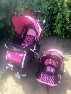 1000  images about strollers on Pinterest | Hot pink, Zebras and ...