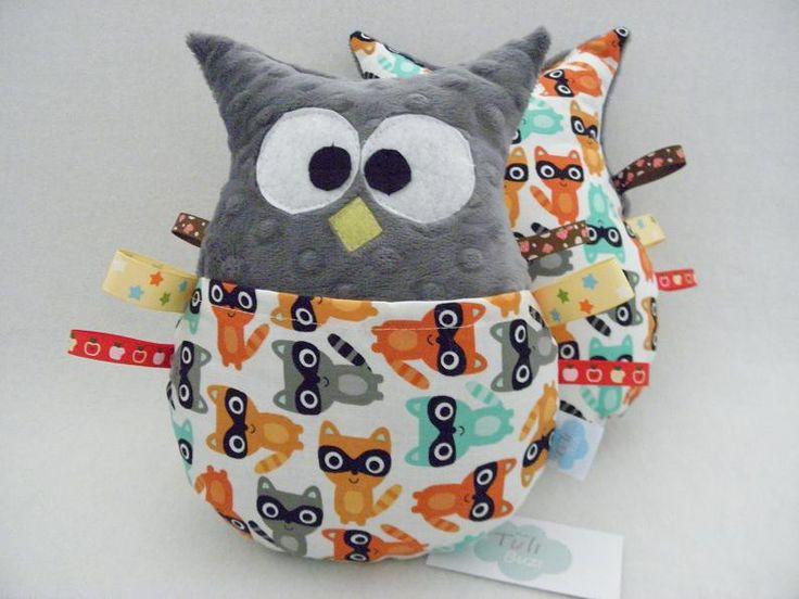 sowa przytulanka minky metki szopy owl  http://sklep.tulibuzi.pl/index.php?id_product=161&controller=product