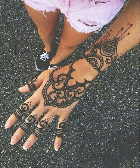 Mehndi Patterns We Heart It : Best henna images on pinterest tattoos