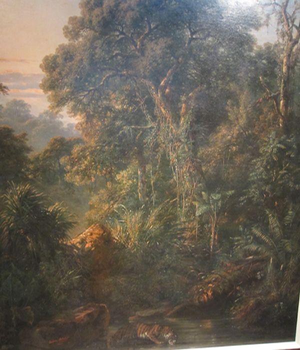 lukisan raden saleh sjarief boestaman