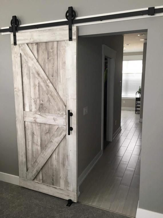 Pin By Rustic Rolling Doors On Home Ideas In 2020 Bedroom Door Decorations Diy Barn Door Rustic House