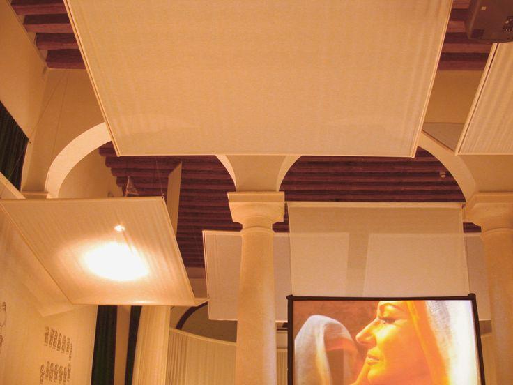 allestimento sala colonne