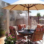 Patio Water Misters - Cool Off For #summer