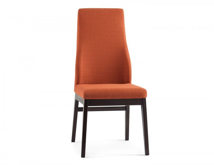 Featuring 100% polyester fabric and solid elmwood legs, the plank chair will be a modern, elegant addition to any indoor space.