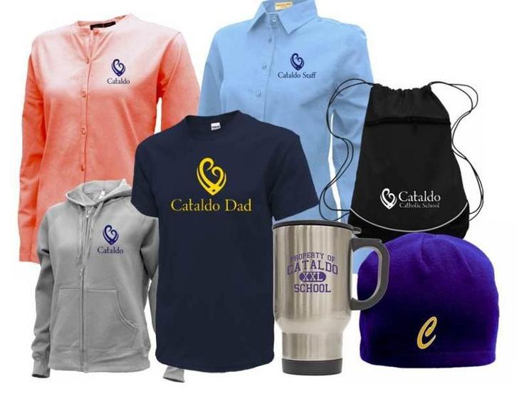Cataldo Catholic School Spirit Wear! Get custom gear for any school!   www.spiritschoolapparel.com